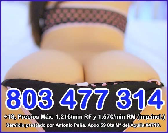 números de líneas eróticas